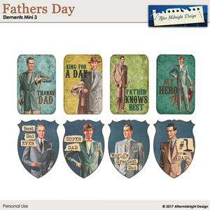 Fathers Day Elements Mini 3