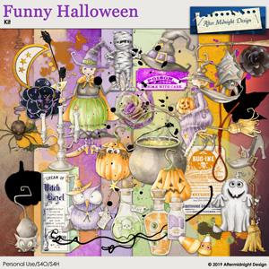 Funny Halloween Kit