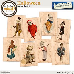 Halloween Journal Cards 2
