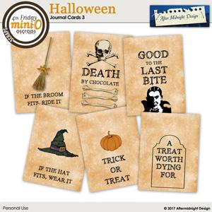 Halloween Journal Cards 3