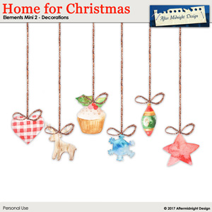 Home for Christmas Elements Mini 2