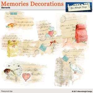 Memories Decorations