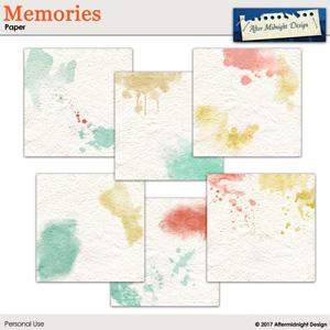 Memories Paper