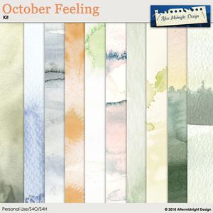 October Feeling Paper