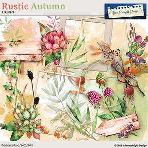 Rustic Autumn Clusters