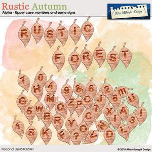 Rustic Autumn Alpha