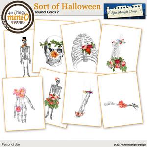 Sort of Halloween Journal Cards 2