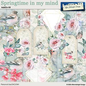 Springtime in my mind AddOn kit