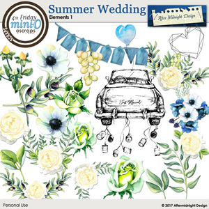 Summer Wedding Elements 1