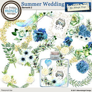 Summer Wedding Elements 2
