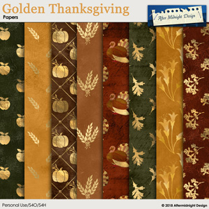 Golden Thanksgiving Papers