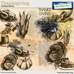 Thanksgiving Overlays