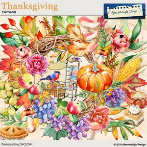 Thanksgiving Elements