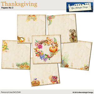 Thanksgiving Papers No 3