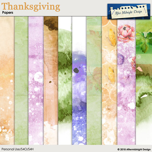 Thanksgiving Papers