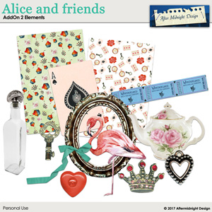 Alice and friends AddOn2 Elements
