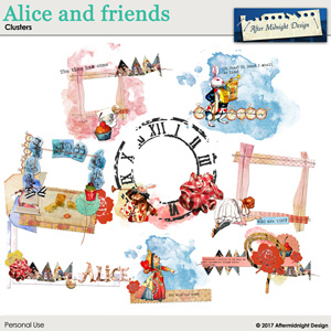 Alice and Friends Clusters
