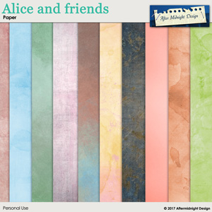 Alice and Friends Paper