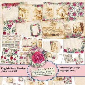 English Rose Garden Junk Journal