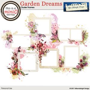 Garden Dreams Cluster Frames