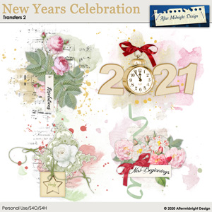 New Years Celebration Transfers 2