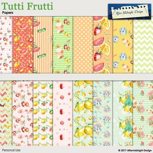 Tutti Frutti Papers