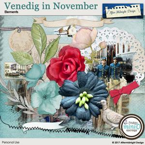 Venice in November elements