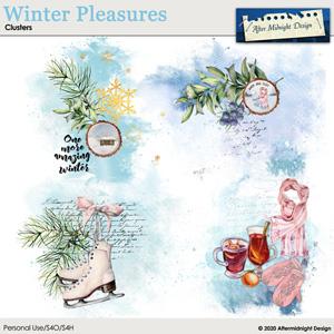 Winter Pleasures Clusters