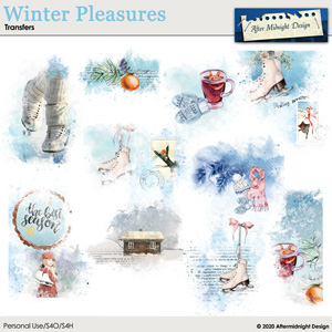 Winter Pleasures Transfers
