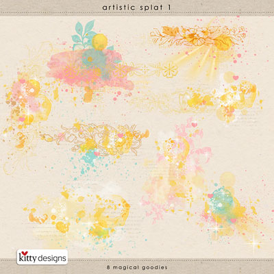 Artistic Splat 1