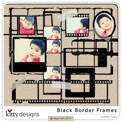 Black Border Frames