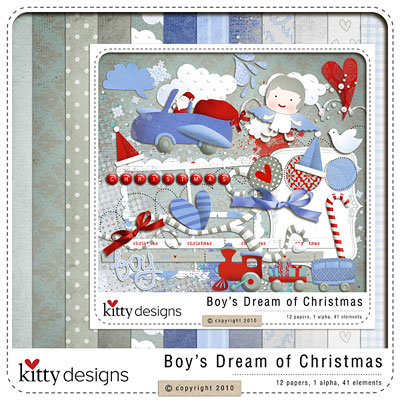 Boy's Dream of Christmas