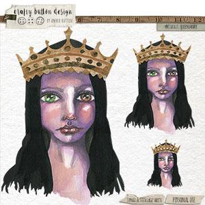 Art Dolls: Queen Mary