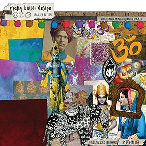 Exotic India Mini Art Journaling Kit