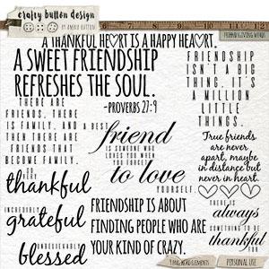 Friendsgiving Words