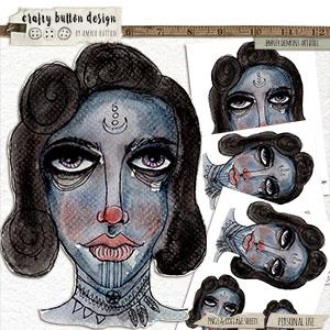 Inner Demons Art Doll
