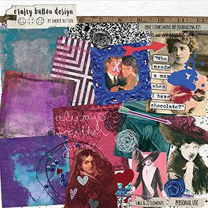 Love Stinks Mini Art Journaling Kit