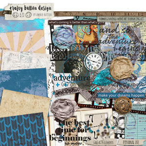 New Beginnings Mini Art Journaling Kit