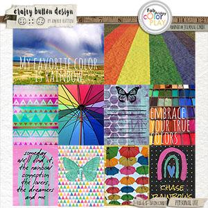 Rainbow Journal Cards