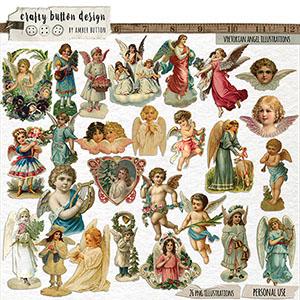 Victorian Angel Illustrations