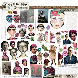 Viva La Vida Collage Sheets