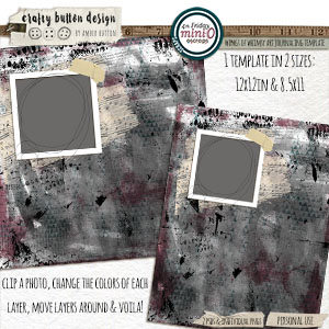 Wings of Whimsy Art Journaling Template Set
