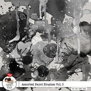 Assorted Paint Brushes Vol. 3 - CU/PU