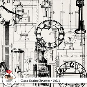 Clock Making Brushes Vol. 1 - CU/PU