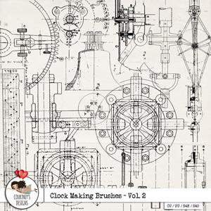 Clock Making Brushes Vol. 2 - CU/PU