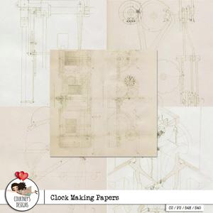 Clock Making Papers - CU/PU