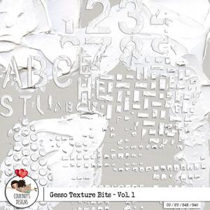 Gesso Texture Bits - Vol. 1 - CU/PU