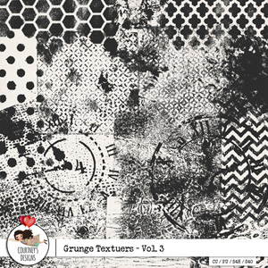 Grunge Textures Vol. 3 - CU/PU