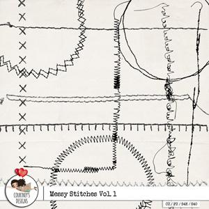 Messy Stitches Vol. 1 - CU/PU