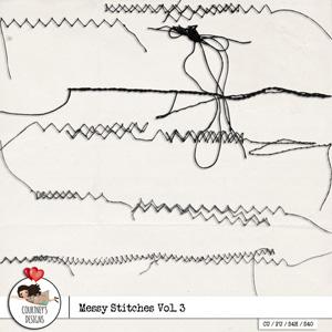 Messy Stitches Vol. 3 - CU/PU